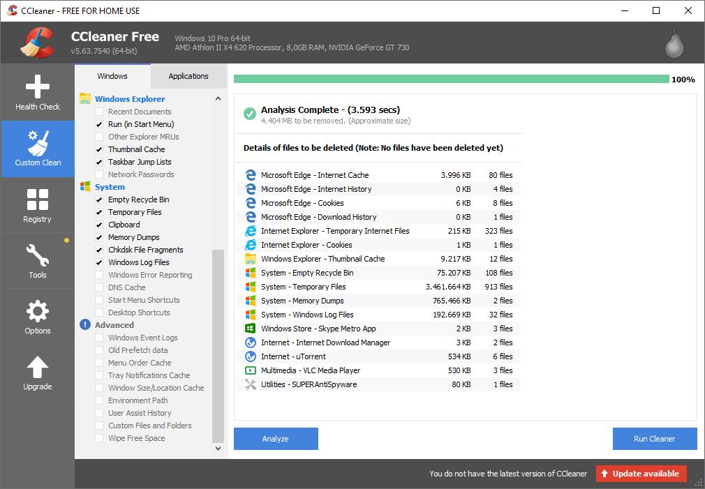 Cara Membersihkan Sampah di Laptop dengan CCleaner