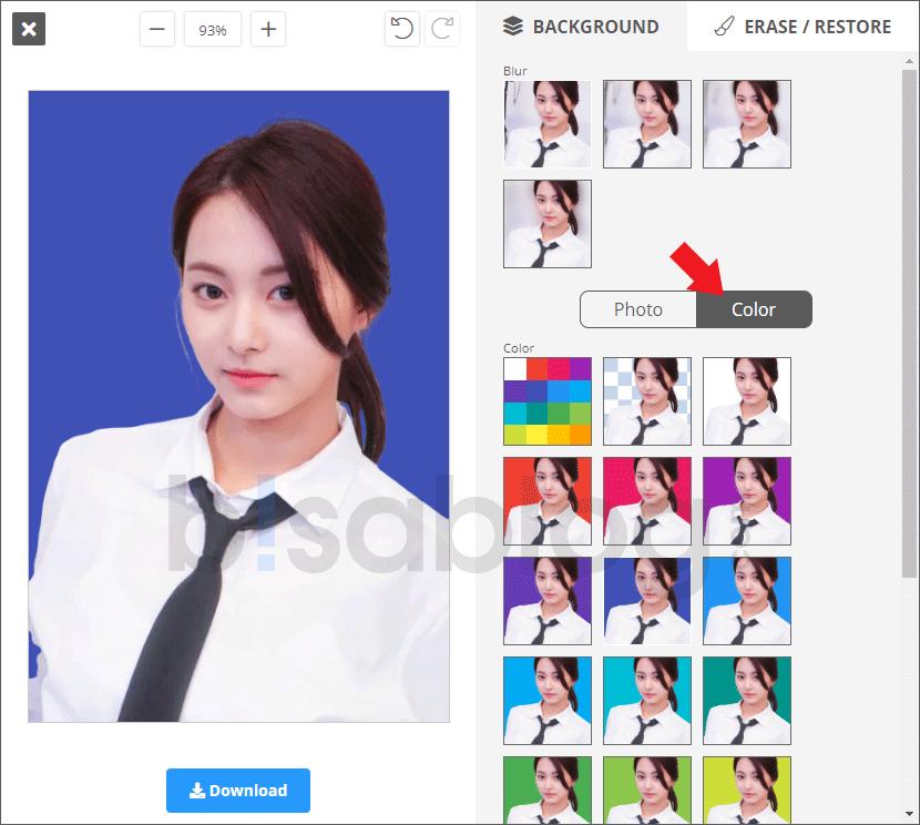 Cara Mengganti Background Foto Online Tanpa Aplikasi Bisablog