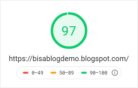 Hasil speed test desktop Linkmagz