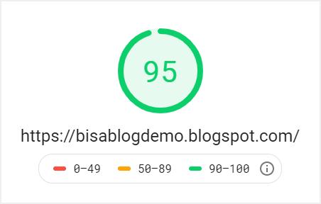 Hasil speed test desktop Viomagz