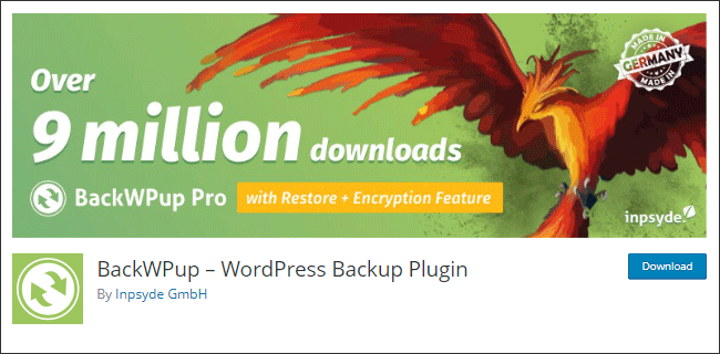 Plugin backup wordpress gratis