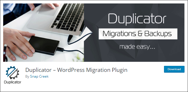 Plugin migrasi dan backup WordPress sekaligus