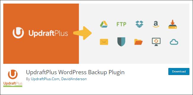 UpdraftPlus, plugin backup wordpress gratis terbaik dengan segudang fitur