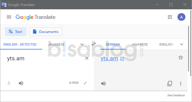 Cara membuka situs yang diblokir dengan Google Translate