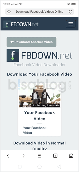 cara save video fb tanpa aplikasi