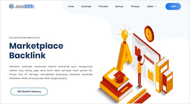 Jawalink menjadi situs penyedia jasa content placement Indonesia dan marketplace backlink terpercaya