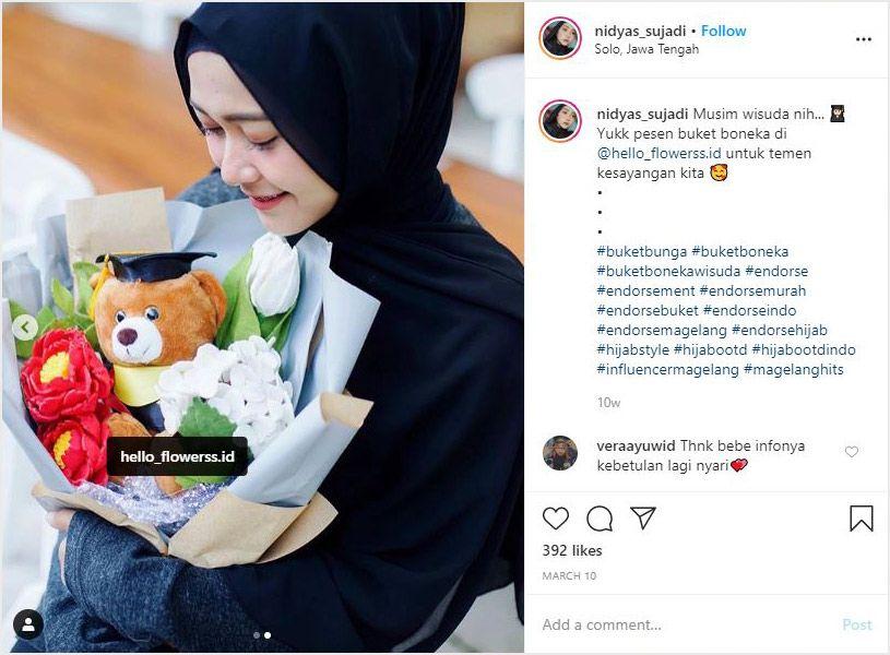 cara menghasilkan uang dari instagram dengan menerima endorse dari pemilik produk