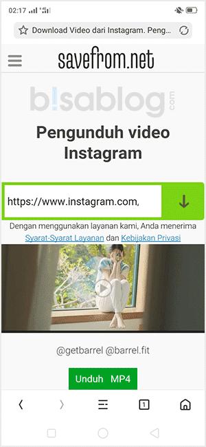 cara menyimpan video instagram ke galeri hp tanpa aplikasi