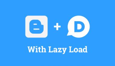 Cara memasang lazy load Disqus di blogger (blogspot)