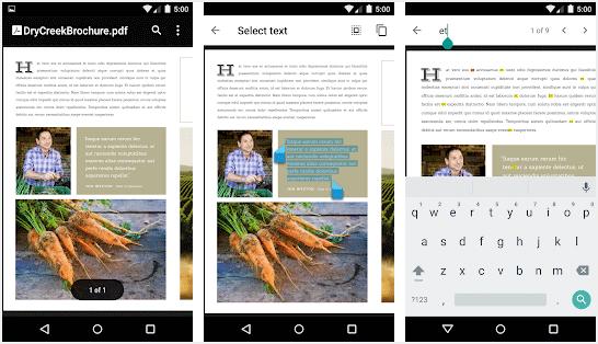 Aplikasi PDF ringan untuk Android