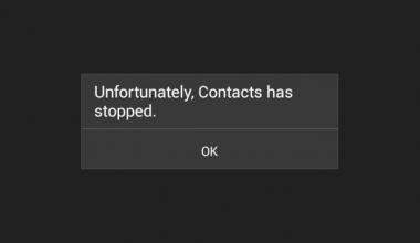 Cara mengatasi aplikasi kontak tidak bisa dibuka