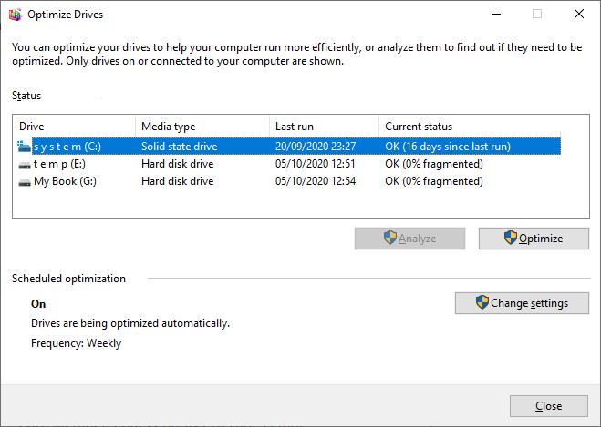 Cara mempercepat windows 10 yang lambat dengan aplikasi defrag