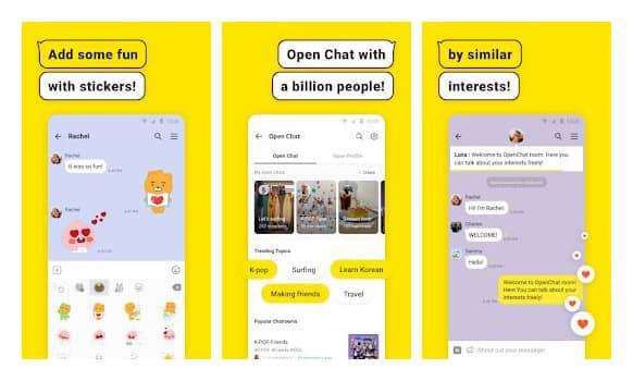 kakaotalk jadi aplikasi yang banyak digunakan orang korea untuk berkomunikasi