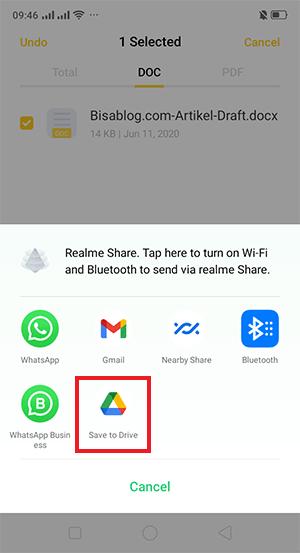 cara membuka file docx di android secara online