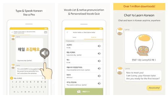 belajar percakapan bahasa korea sehari-hari lewat eggbun